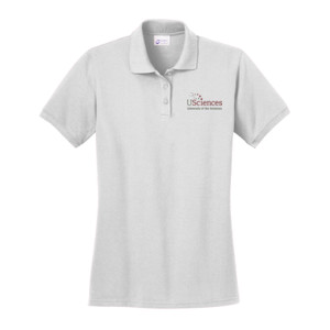 LADIES, Polo Shirt Short Sleeve USciences_Logo_Full Color
