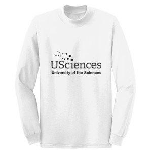 ADULT, T-Shirt, Long Sleeve, USciences_Logo_Black