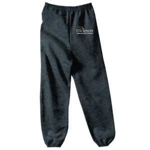 YOUTH, Sweatpant, USciences_Logo_White