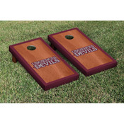 USciences Devils Beanbag Game Set Rosewood Stained Border Version