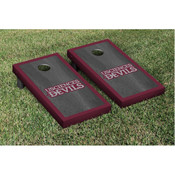 USciences Devils Beanbag Game Set Onyx Stained Border Version