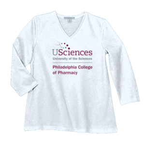 LADIES, Long Sleeve Concert T Shirt PCP_USciences_Stacked_Color