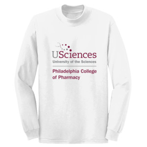 ADULT, Long Sleeve T Shirt PCP_USciences_Stacked_Color