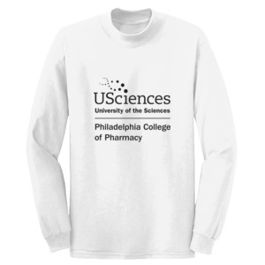 ADULT, Long Sleeve T Shirt PCP_USciences_Stacked_Black