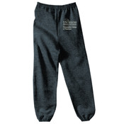 YOUTH, Sweatpants PCP_USciences_Stacked_White