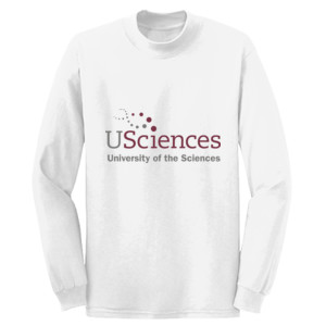 ADULT, Long Sleeve T Shirt, USciences_Logo_Full Color