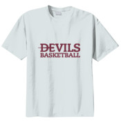 YOUTH, T Shirt Devils_Basketball_Maroon