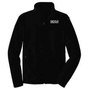 ADULT, Fleece Jacket Devils_Basketball_White