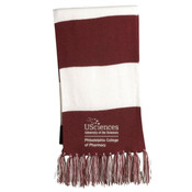 Spectator Scarf, PCP_USciences_Stacked_White