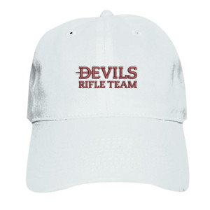 ADULT, Baseball Cap Twill Devils_Rifle Team_Logo_Maroon