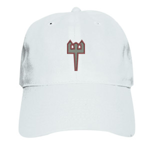 ADULT, Baseball Cap Trident_Maroon_Grey
