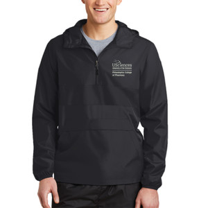 ADULT, Zipped Pocket Anorak PCP_USciences_White