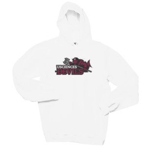 ADULT, Cotton Pullover Hooded Sweatshirt, Drake_Primary_Logo_Full Color