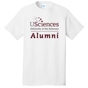ADULT T Shirt, Short Sleeve, UScience_Alumni