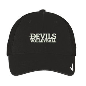 Nike Golf Mesh Back Cap II, Devils Volleyball/White