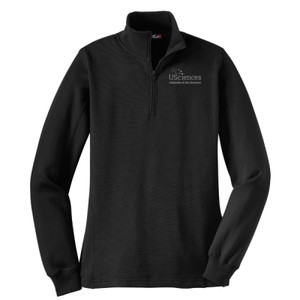 Ladies 1/4-Zip Sweatshirt, Usci_Alumni_One Color