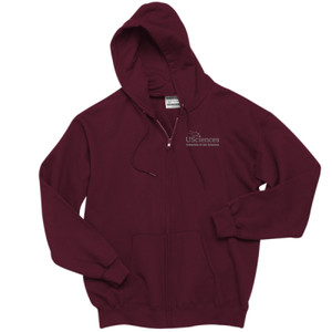 Youth Full-Zip Hooded Sweatshirt, Usci_Alumni_One Color