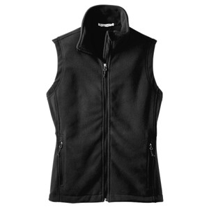 Ladies Fleece Vest, Usci_Alumni_One Color