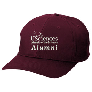 Adult Six Panel Twill Baseball Cap, Usci_Alumni_One Color