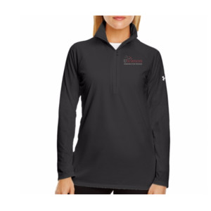 LADIES' UNDER ARMOR TECH QUARTER-ZIP, Usci_Alumni_One Color
