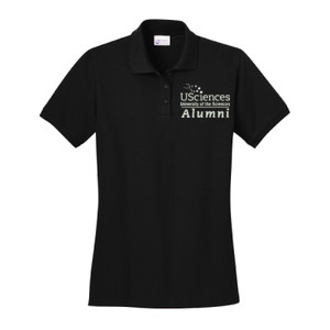 Ladies Ring Spun Pique Polo, Usci_Alumni_One Color