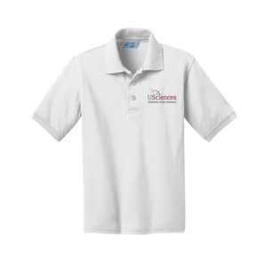 YOUTH, Polo Shirt Short Sleeve USciences_Logo_Full Color