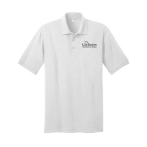 ADULT, Polo Shirt Short Sleeve USciences_Logo_Black