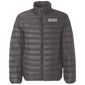 Adult 32 Degrees Packable Down Jacket, Devils_Basketball_White