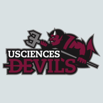 JUNIORS, Concert V Neck Tee Devils_Baseball/Maroon  Design