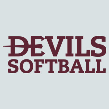 ADULT, Shirt Short Sleeve Devils_Baseball/Maroon Design