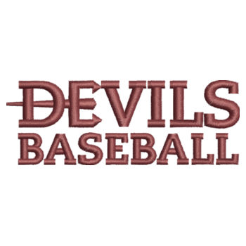 ADULT, 1/4 Zip Sweatshirt Devils_Baseball/Maroon   Design