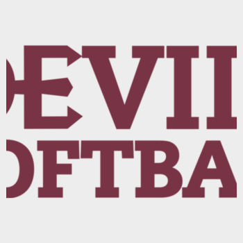 ADULT, Ultimate Cotton® Pullover Hooded Sweatshirt Devils_Softball_Maroon   Design