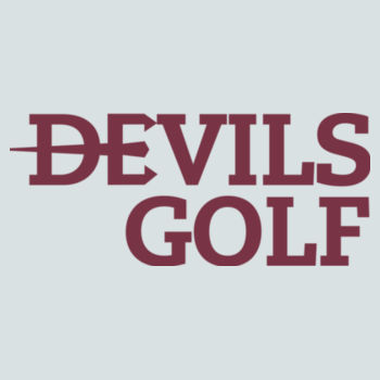 YOUTH, Pullover Hooded Sweatshirt Devils_Golf/Maroon Design