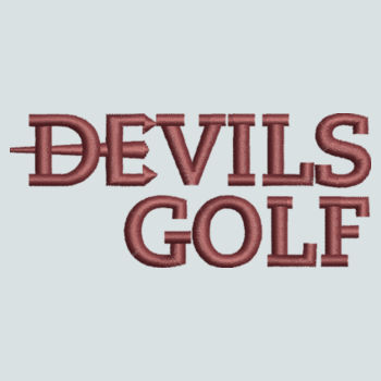 ADULT, Baseball Cap Twill Devils_Golf/Logo_Maroon Design