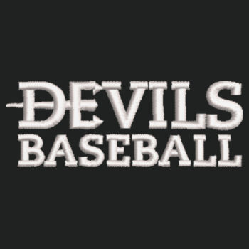 ADULT, Zipped Pocket Anorak, Devils_Baseball/White, Left Chest Design