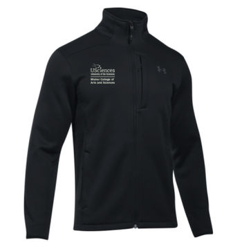 MEN'S UNDER ARMOR EXTREME COLDGEAR JACKET, Misher_Stacked_White Thumbnail