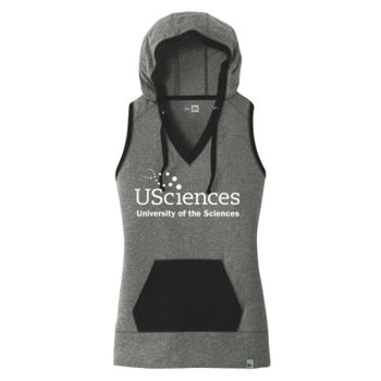 Ladies Heritage Blend Hoodie Tank, USciences_White  Thumbnail