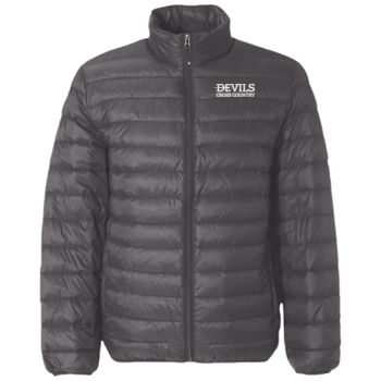 Adult 32 Degrees Packable Down Jacket, Devils_Basketball_White Thumbnail