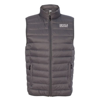32 Degrees Packable Down Vest, Devils_Basketball_White Thumbnail