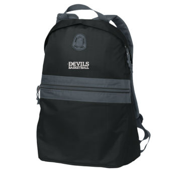 Nailhead Backpack, Devils_Basketball_White Thumbnail