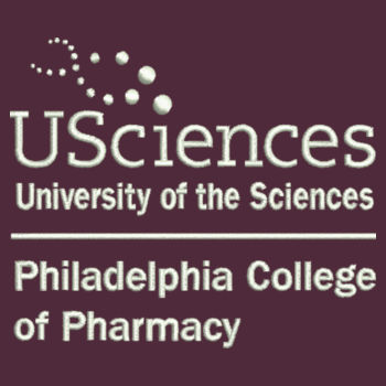 Fleece Blanket with Strap, PCP_USciences_Logo_Full Color   Design