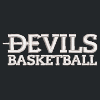 Nailhead Backpack, Devils_Basketball_White Design
