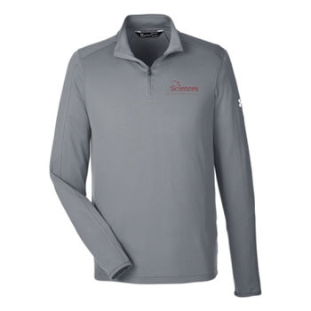 UMEN'S UNDER ARMOR TECH QUARTER-ZIP, Usci_Alumni_One Color Thumbnail