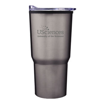 PCP - Etched in Design -  - 20 oz. Curved Body Tumbler W/ Lid and Custom Logo Thumbnail