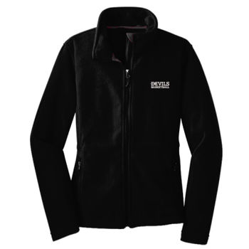 LADIES, Fleece Jacket, Devils_Baseball/White, Left Chest Thumbnail
