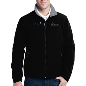 ADULT, Fleece Lined Jacket, USciences_White/Left Chest  Thumbnail