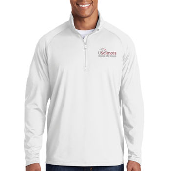 ADULT, Sport-Wick® Stretch 1/2-Zip Pullover USciences_Logo/Full Color Thumbnail