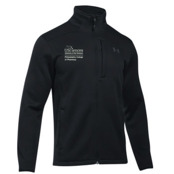 MEN'S UNDER ARMOR EXTREME COLDGEAR JACKET, PCP_Stacked_White Thumbnail