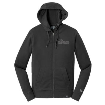 ® French Terry Full Zip Hoodie, USciences_White Thumbnail