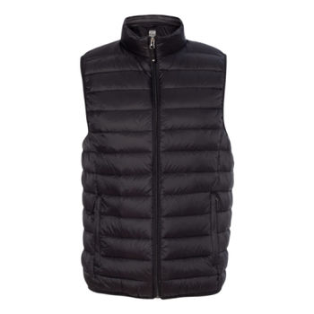 32 Degrees Packable Down Vest, USciences_White Thumbnail